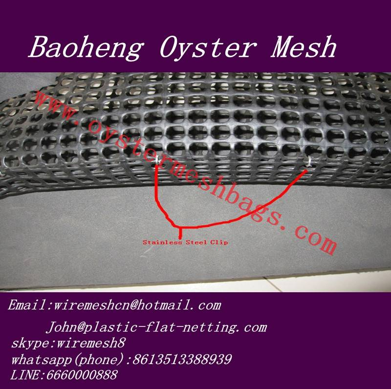 Square oyster mesh,oyster mesh bag