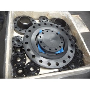 ANSI B16.5 Weld Neck Flange, ASTM A105, DN300 Size, SCH 60, PN50