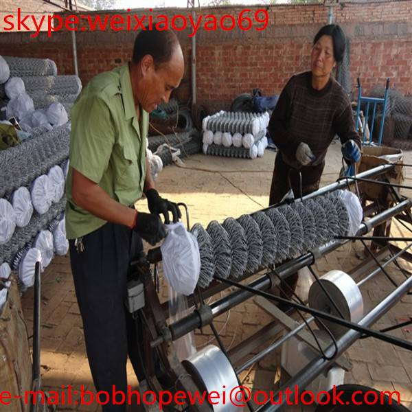 2015 NEW, China good galvanized chain link fence( diamond wire mesh), really Factory