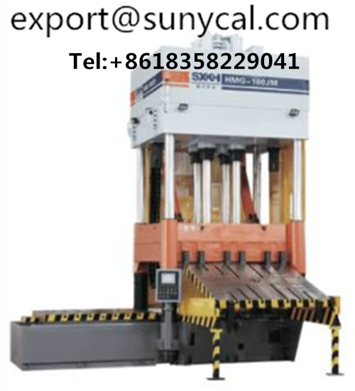 sell 100T Vertical Type Die Spotting Machine