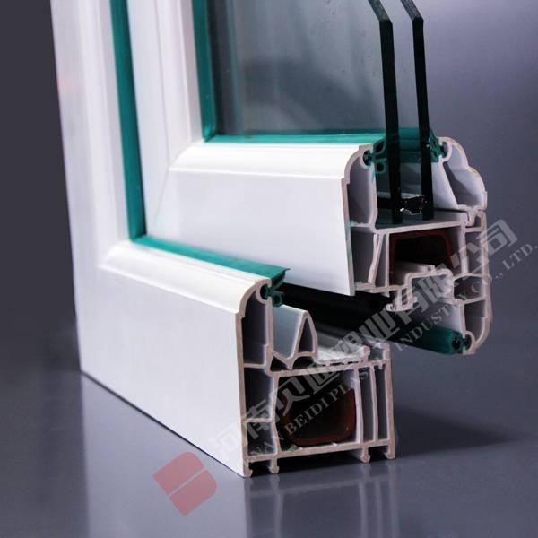 Environment-Friendly Sound-Proof PVC Plastic Window Profiles