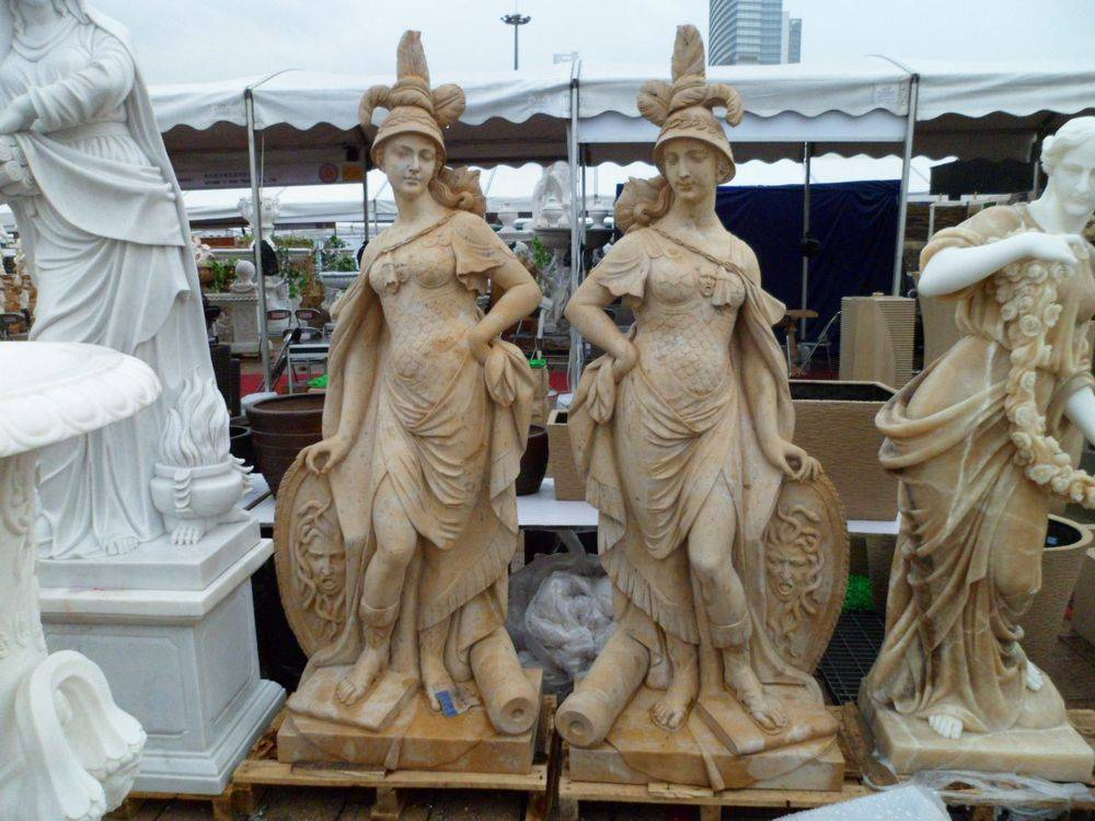 Marble sclpture statue