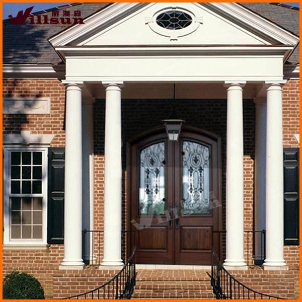 solid wood entrance door for villa