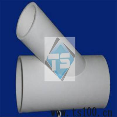 Alumina Ceramic Three-Way Pipe /T-Branch for Cement Plant