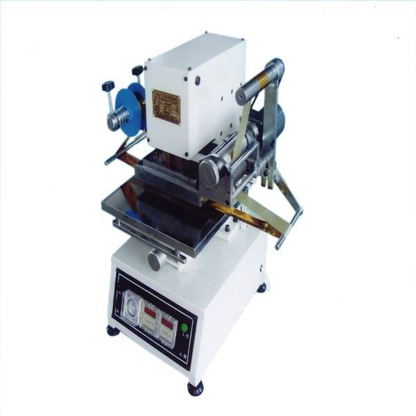TJ-74 mini desktop hot foil stamping machine for leather accessory