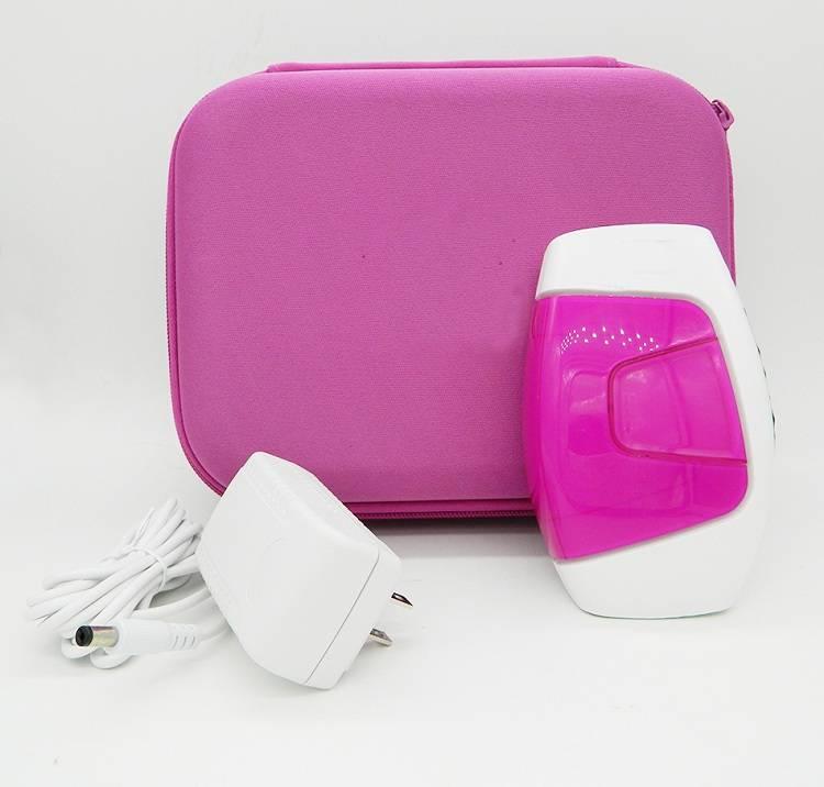 Travel portable bag laser epilator beauty equipment with 150000 light pulses HPL technology
