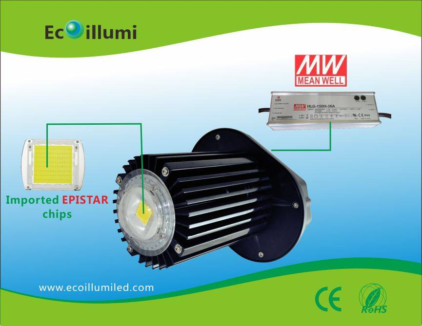90-100lm/w led high bay light