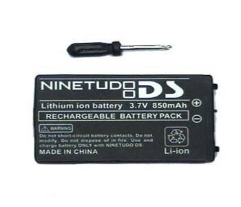 Video games repair part Battery for NDS