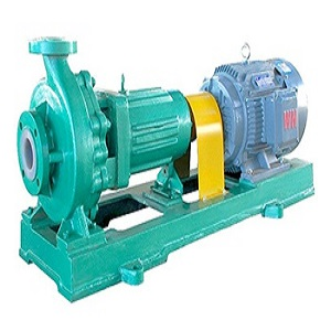 Sell IHF Series Teflon Lining Chemical end-suction pump