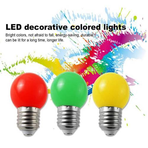 0.5W 1w Colored LED bulb light G45 LED bulb decorative LED bulb