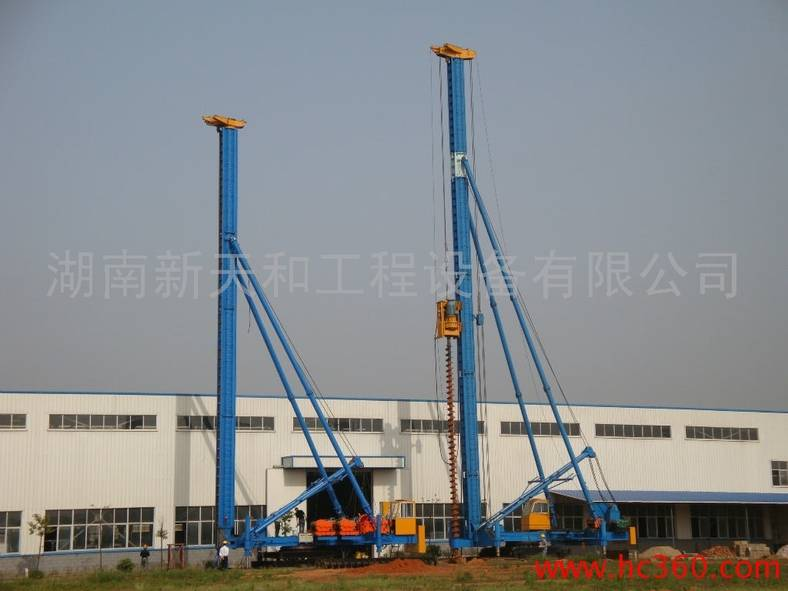 CFG20 Hydraulic Foot-Step Long Auger Drilling Rig