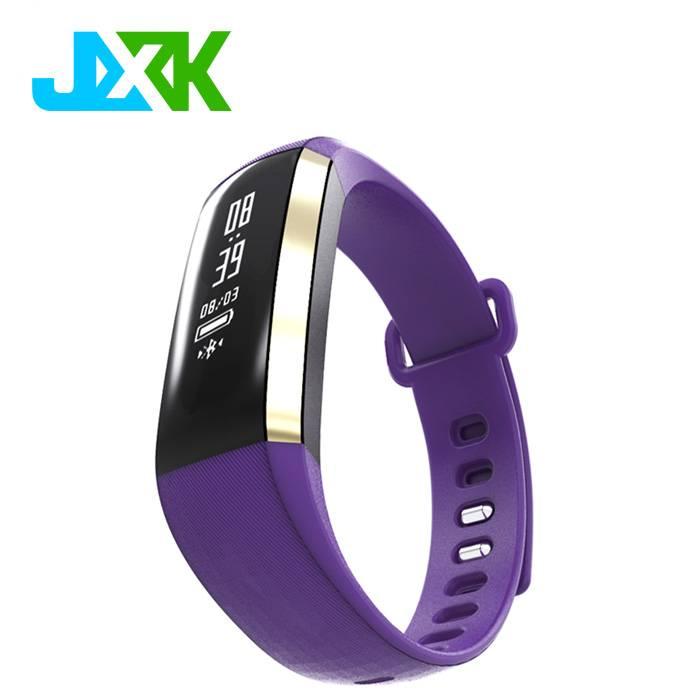 New Blood pressure monitor smart bracelet with heart rate smart wristband JXK-M2