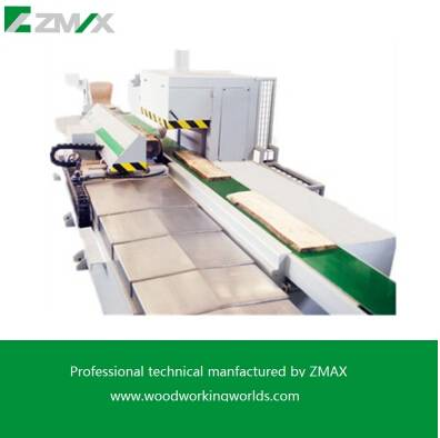 Wood sawing machineZMAX Automatic Double cutting sawing machine MJ-250-1500A