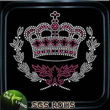 Wholesale crown hotfix rhinestone motif designs