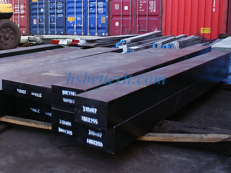 Rolled tool steel S7 Forged alloy steel S7 steel bar