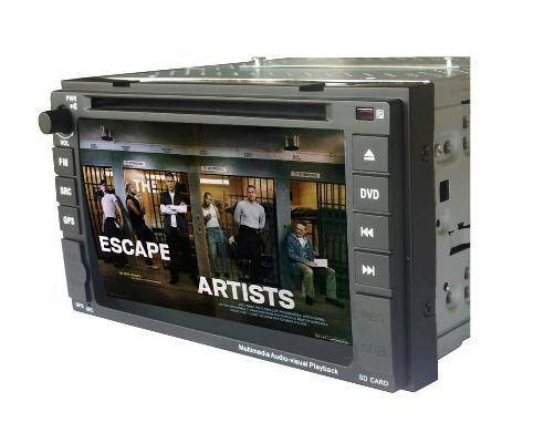 Nissan DVD Player with HD Touchscreen 800 x 480 Bluetooth iPod