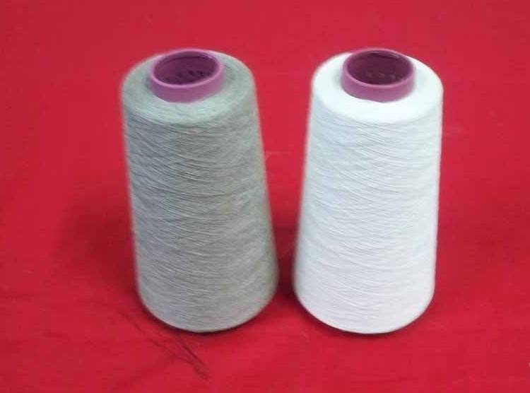 24NM/1 100% Flax Yarn In Semi-bleach or Natural