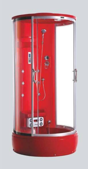Family multifunction glass door shower cubicles