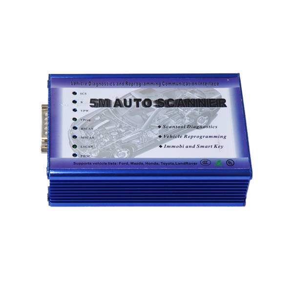 5M Scanner Scanner for Ford, Mazda, Honda, LandRover and Toyota