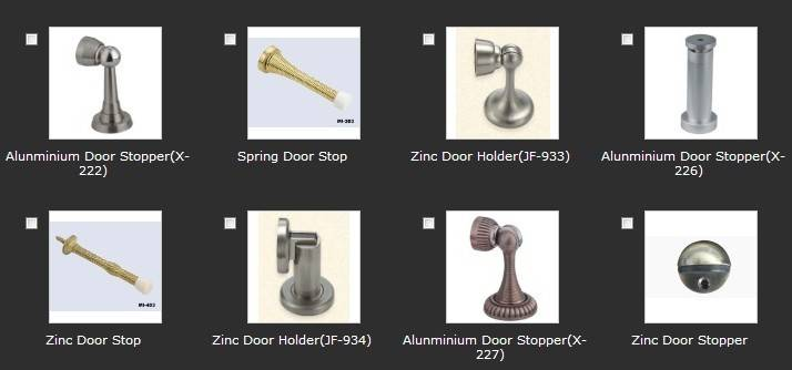 Thirty-one different types of Door Stops(series 2)