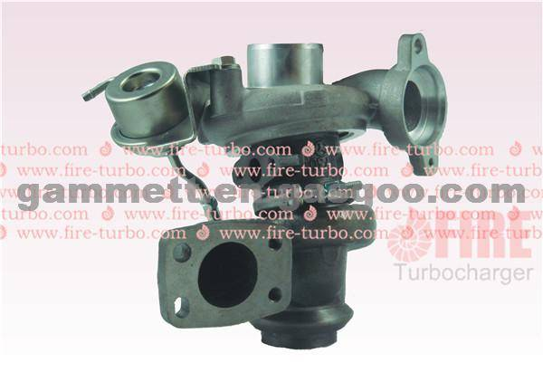 Turbocharger Ford TD025S2-06T 0375N5 49173-07508
