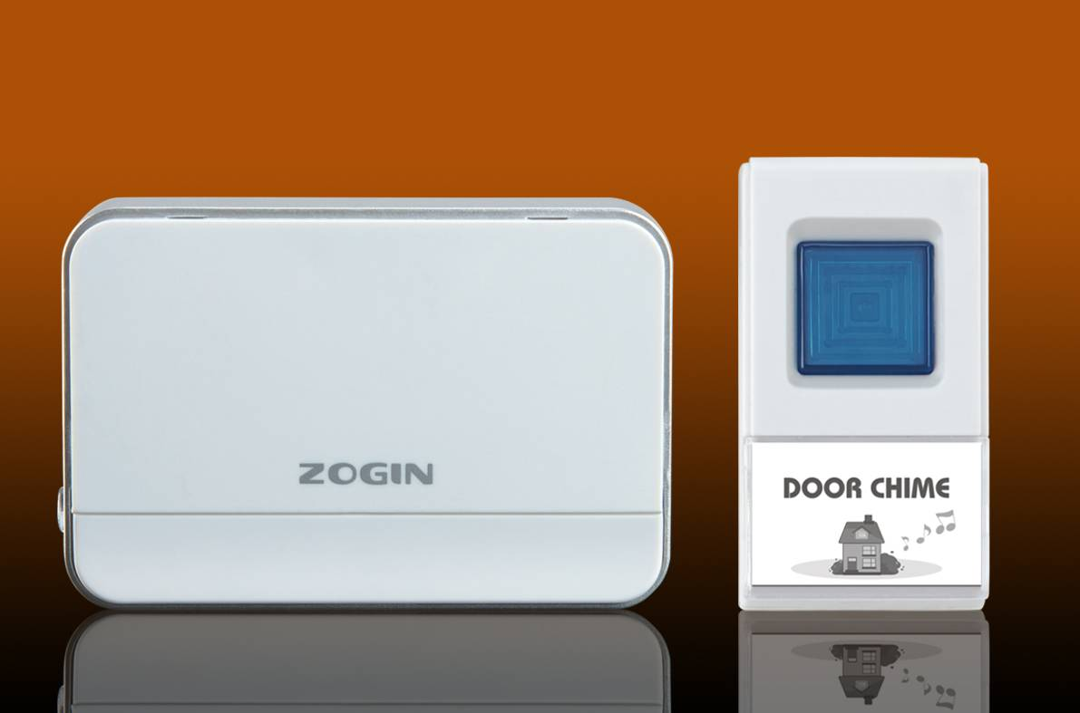 wireless digital door chime D03 with Waterproof transmitter