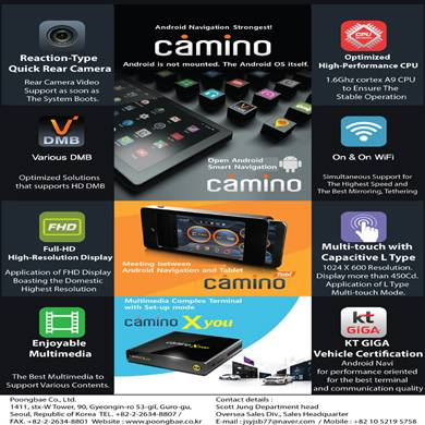 looking for a dealer or customer for our car navigation CAMINO series