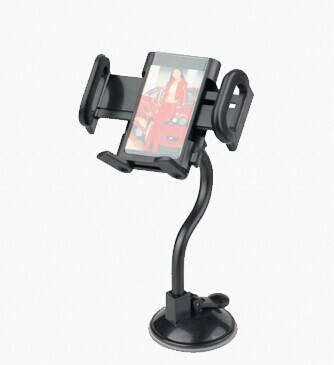 retractable mobile phone holder/GPS holder