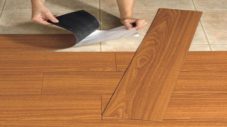 Anti-slip, waterproof, fireproof vinyl floor