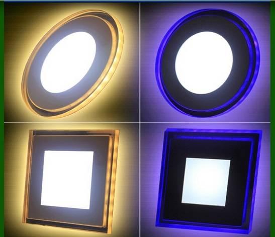 85 - 265V LED Flat Panel Light UV And Infrared Light 2 Warranty Years