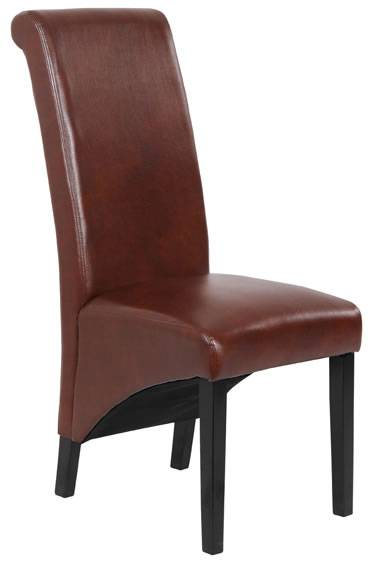 Dark Brown Dinning Chair