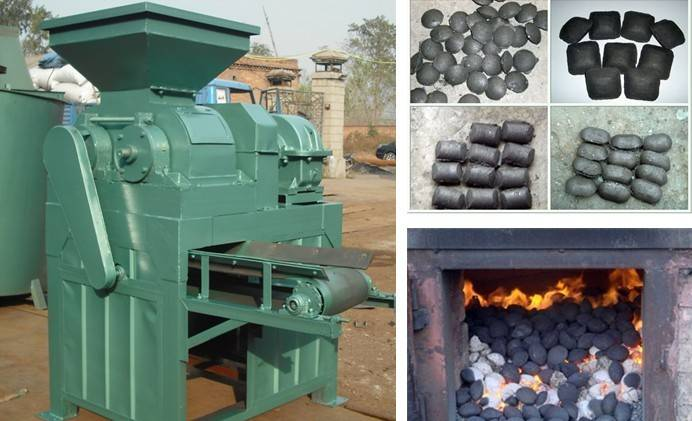 High quality low price Charcoal briquette machine/Professional coal powder ball pressure machine