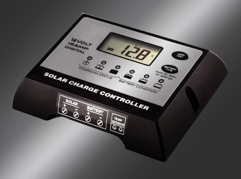 PWM Digital 12v 10a solar controller