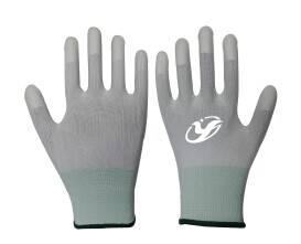 13G nylon/polyester waterbase PU finger dip