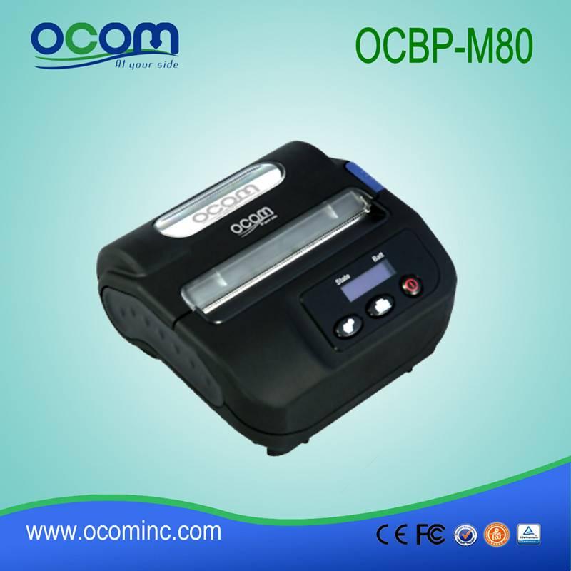 supply 80mm high quality bluetooth mobile thermal printer(OCBP-M80)