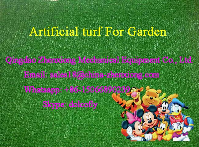 Plastic grass mat making machine