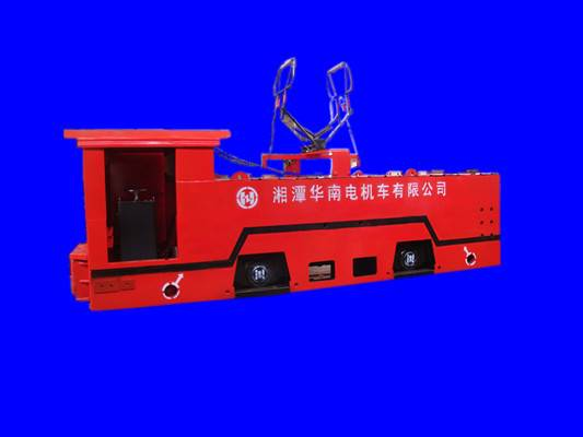 14ton large overhead line electric locomotive for underground mining