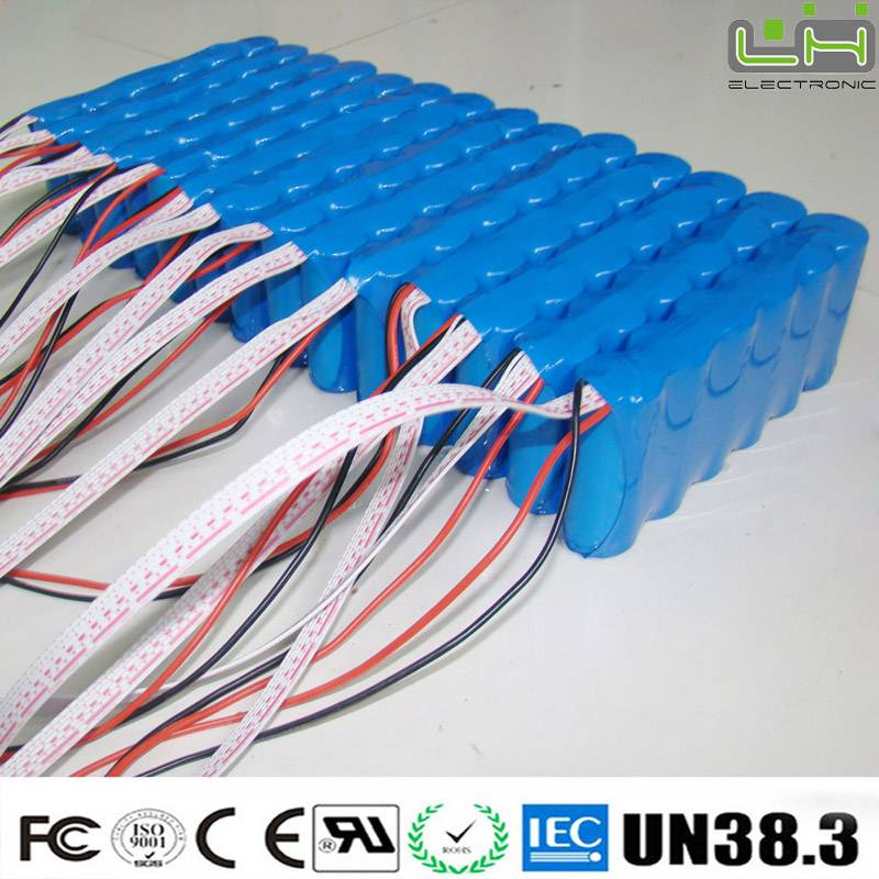 Sell rechargeable battery pack 18650 battery 1300mah 25.9v