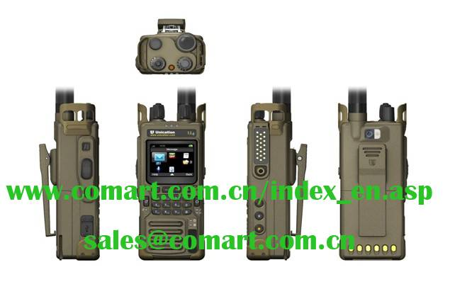 U4 Portable Smart Digital Radio™ with Camera (For Public Safety)