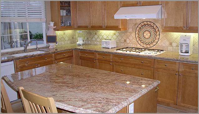Granite top manufacture