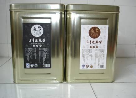 18kg Iron drum with sesame paste