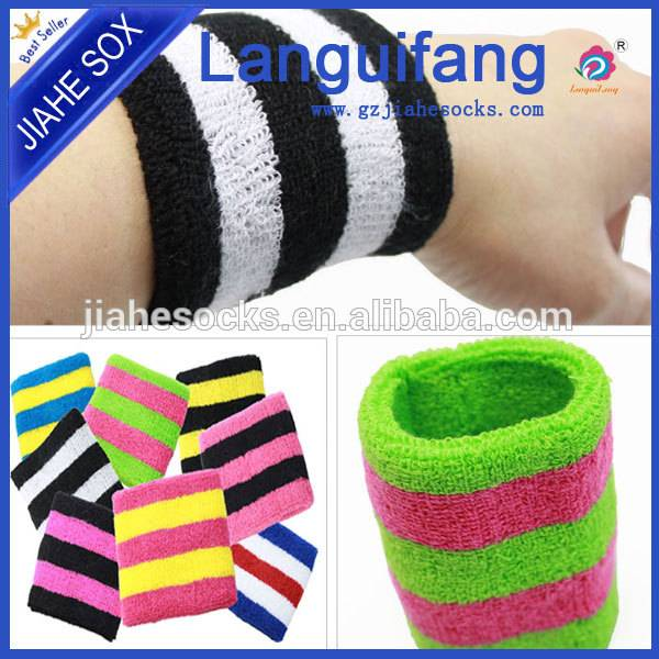 China factory OEM sport sweatbands wrist sweatbands