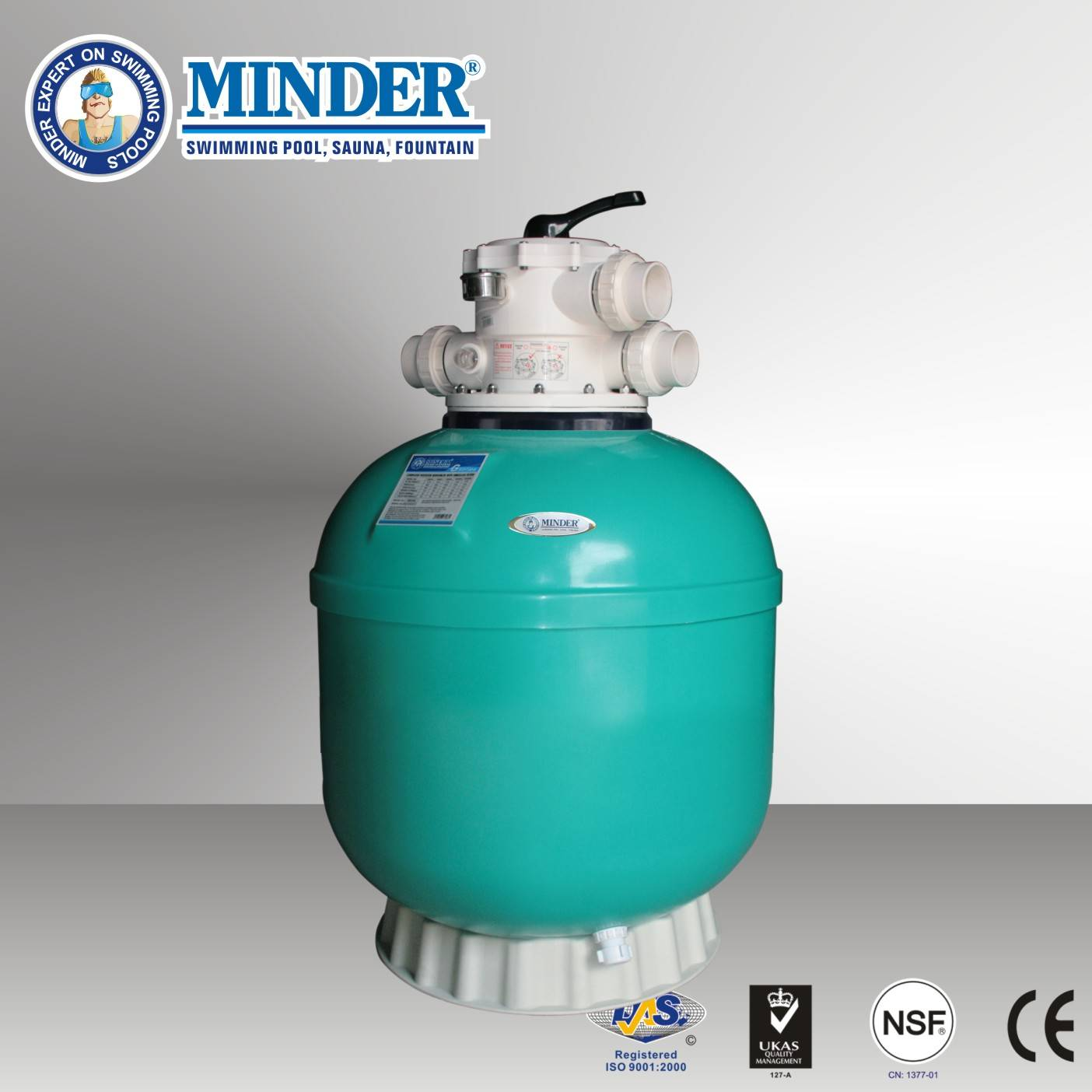G series 2.0 Inch Valve Swimming Pool Sand filter