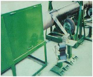 Tape winding production line
