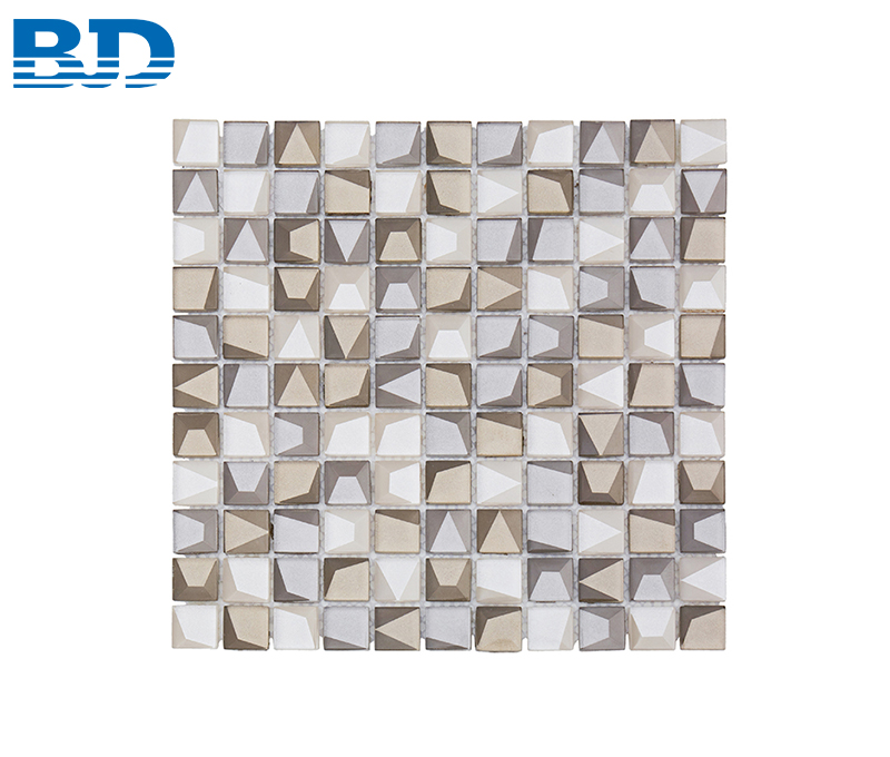 Mixed Stone Glass Mosaic