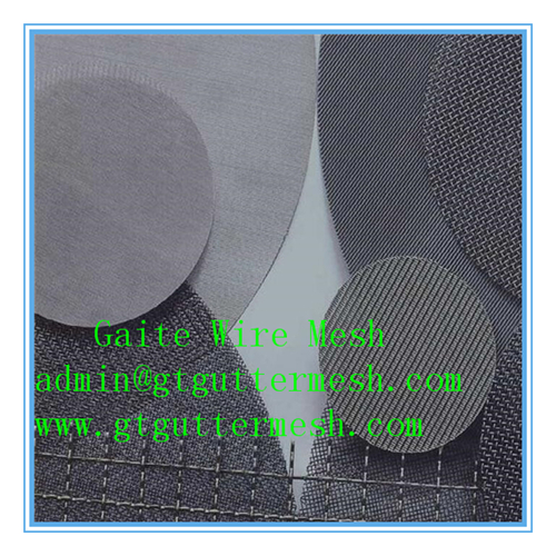 Stainless Steel Square Wire Mesh/Filter Mesh Cloth/Plastic Exturder Filter Mesh