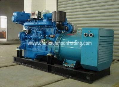 250kw Chinese Shangchai Marine Auxiliary Diesel Generator Set, 50hz or 60hz