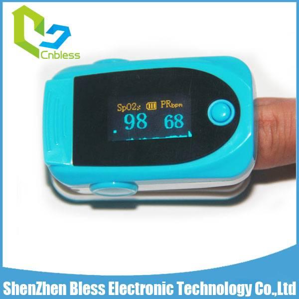BLS1100 Digital Body Health Testing Device SP02 PR Fingertip Pulse Oximeter