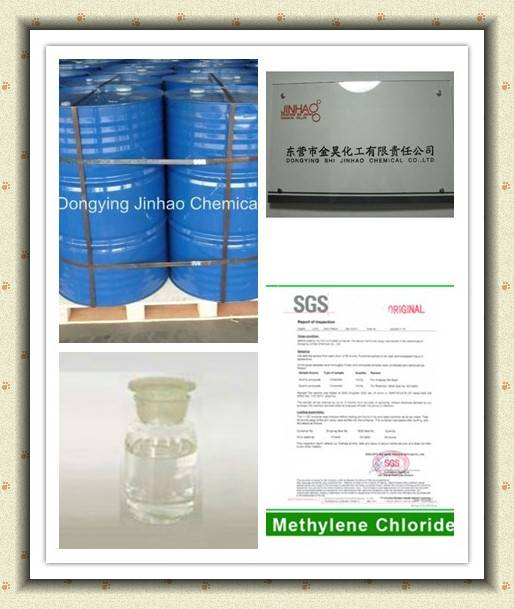 Chemical Raw Materials High Purity 99.99%min Methylene Choride