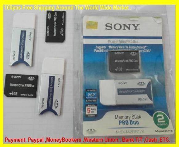 Memory Stick Pro Duo 1Gb 2GB 4GB 8GB 16GB 32GB